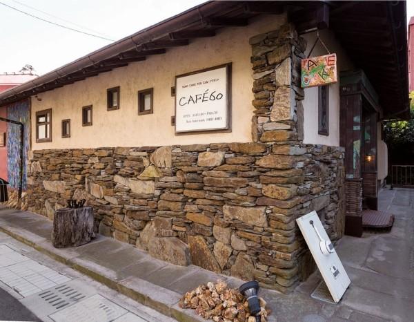 築75年の民家を改装した建物
