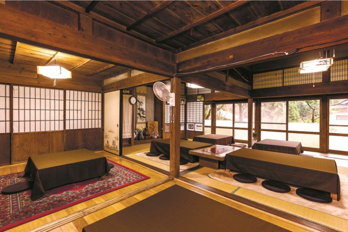 店はオーナー・窪田重樹さんの祖父母が住んでいた建物
