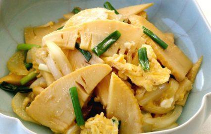 古い記事: タケノコと野菜炒めの卵とじ | 多仁亜の旬を食べるレシピ
