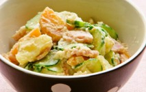 古い記事: ゴマ風味ポテトサラダ | ゴマだれで、簡単に!