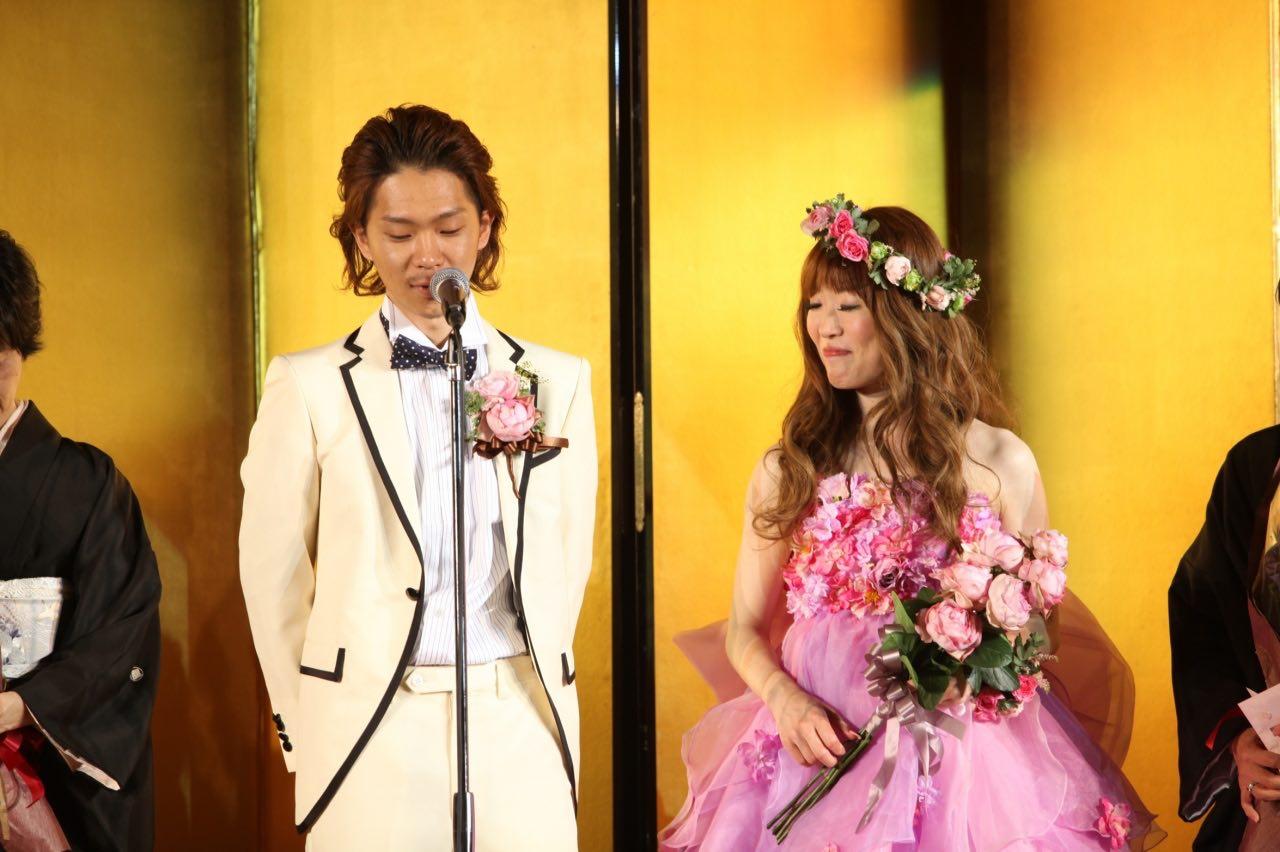 最後の謝辞でゲストへの感謝と由希奈さんへ感謝を伝える浩徳さん