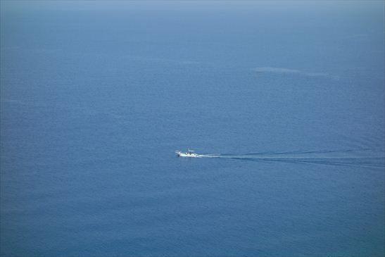 甑島の漁船