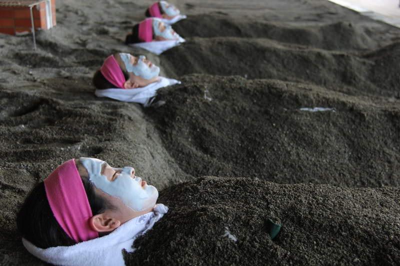 指宿砂むし温泉海水パック
