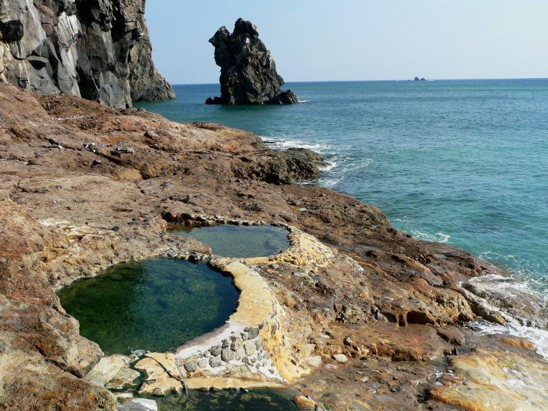 三島村硫黄島「東温泉」