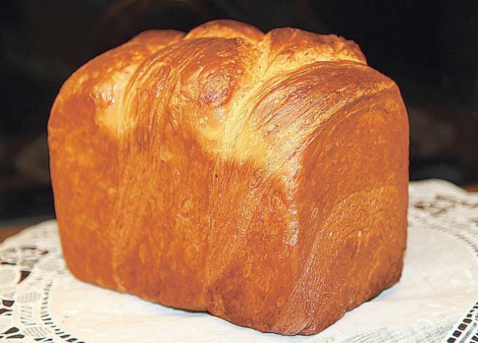 クロワッサンの食パン