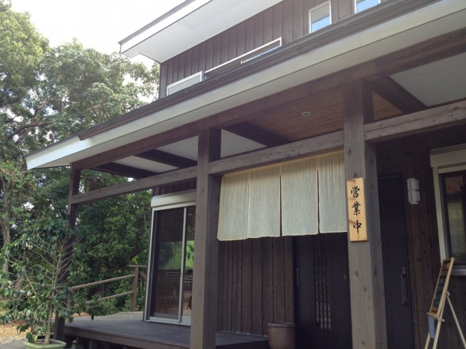 屋久島初の農家レストラン「食彩なからせ」