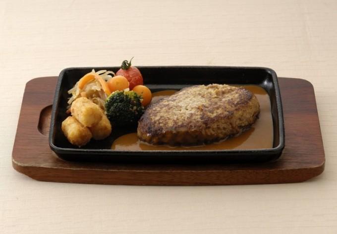 カフェレストラン「トリアン」特製ハンバーグ