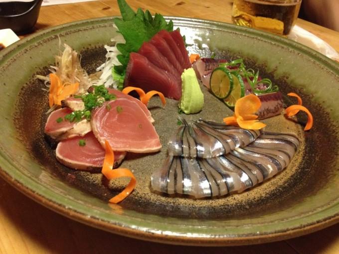 じいじ家の魚料理のひとつ
