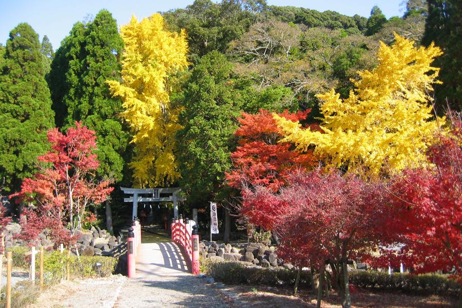 冠嶽の紅葉