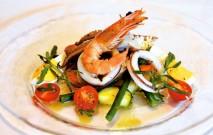 古い記事: カッポン・マーグロ~魚介と野菜のサラダ~ | 黒酢の達人レシ