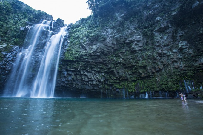 「雄川の滝」(南大隅町)