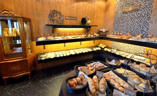 Boulangerie SHIZUKU店内