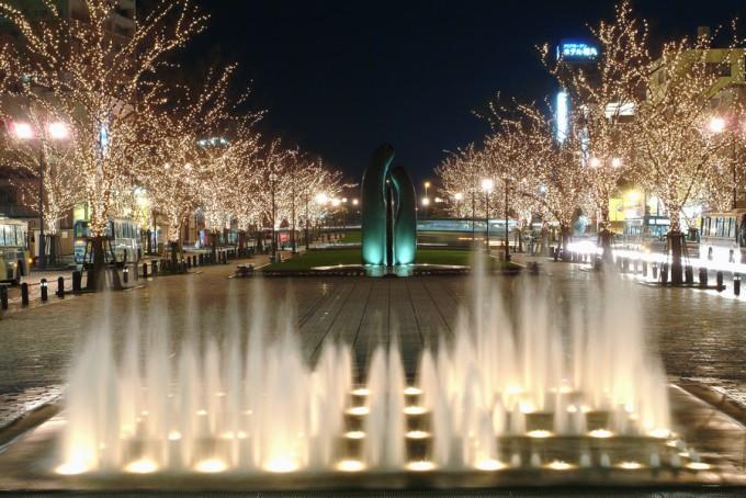 みなと大通り公園 (写真提供:鹿児島市)