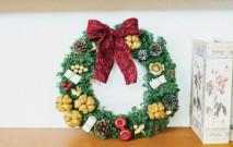 古い記事: クリスマスリースに願いを | Mstyleの花あそび/12月
