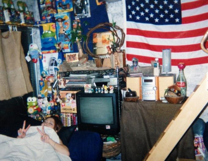ルームシェアの部屋