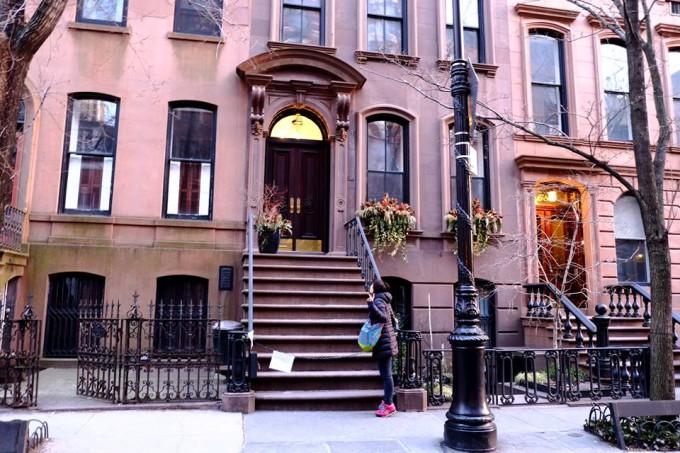 NYで一番の目的って言ってもいい、SATC キャリーのおうち