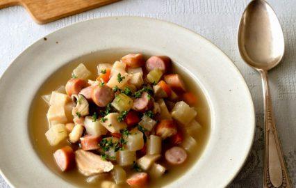 古い記事: 大根で作るドイツ風具だくさんスープ | 多仁亜の旬を食べるレ