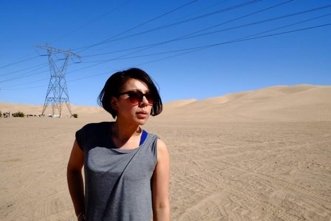 砂漠の中のMaico