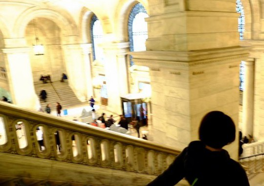 N.Y公立図書館内部