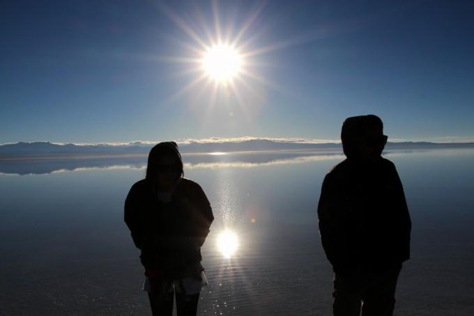 本当に美しい。コトバにならないウユニ塩湖