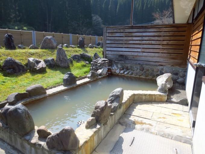 朱峰の露天風呂