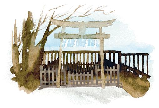 志賀海神社遥拝所