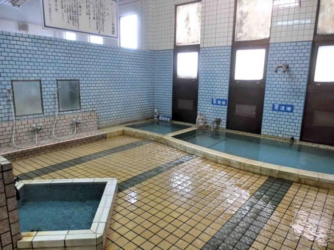 海潟温泉江洋館大浴場