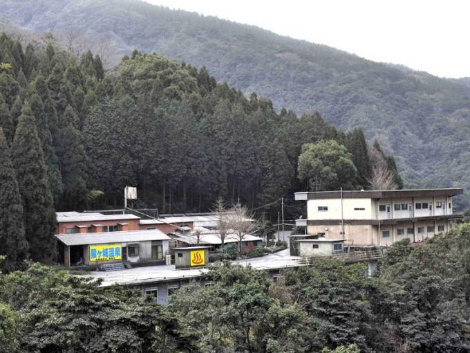 高隈ラジウム猿ヶ城温泉