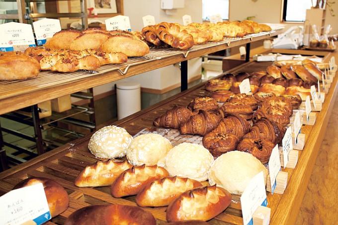 TAK BAGERI-CAFEのパンたち