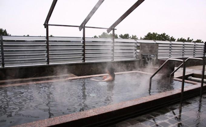 休暇村 志賀島の露天風呂