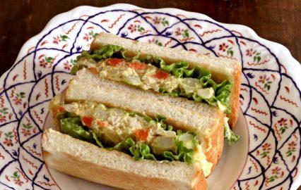 古い記事: らっきょう漬け入りポテサラのサンドイッチ | 多仁亜の旬を食