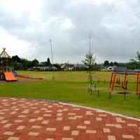 遊具広場が隣接しており、親子連れにもうれしい