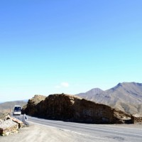 バスは行くよ~砂漠へ♪