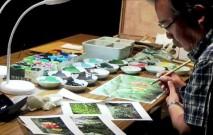 古い記事: 背景画家・山本二三さん、屋久島の苔の精霊を描く―制作実演【動