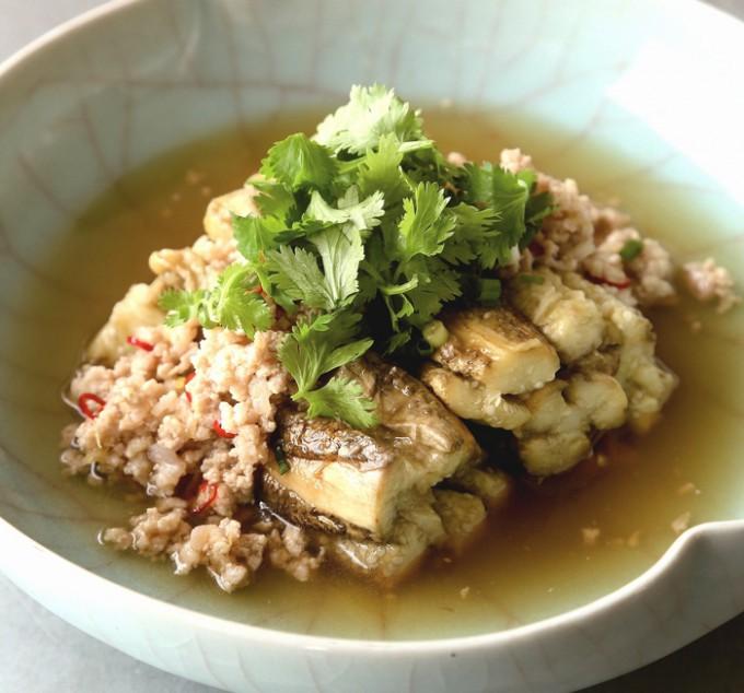 タイ風焼きナス