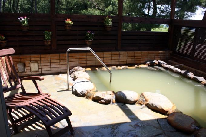 休暇村指宿の露天風呂