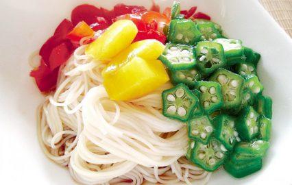 古い記事: 冷やしそうめん―オクラ・ミニトマトのせ   かごしま旬野菜レ