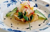 古い記事: 白身魚の鰹黒酢クリームソース仕立て | 黒酢の達人レシピ