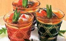 古い記事: 黒酢の達人レシピ | 冷し茶碗蒸し黒酢ポン酢ジュレ掛け