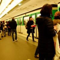 パリジェンヌ気分でパリの地下鉄