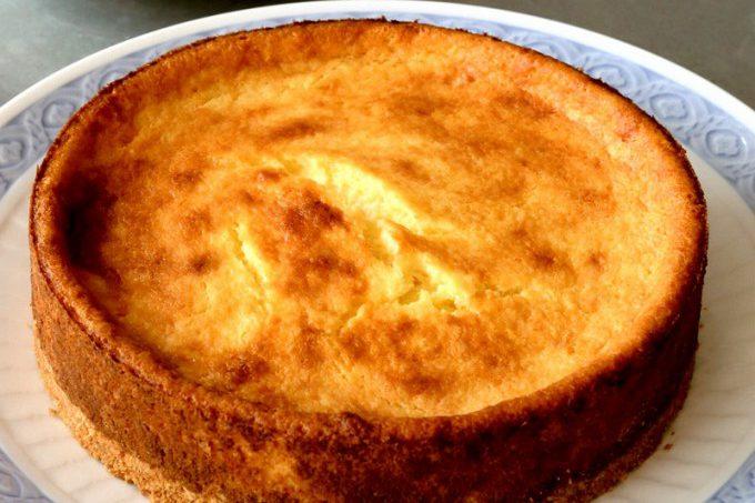 門倉多仁亜のヤマイモのチーズケーキ