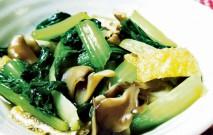 古い記事: チンゲン菜とクイン茸の煮浸し | かごしま旬野菜レシピ