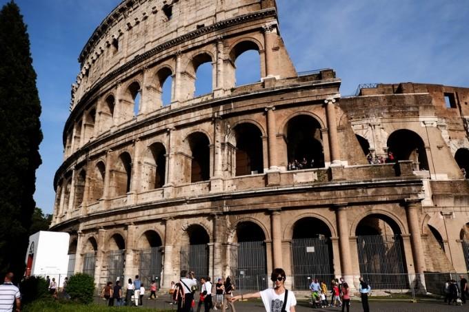 ザ・ローマの顔!