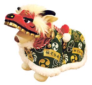 なりきりペット「獅子舞コート」