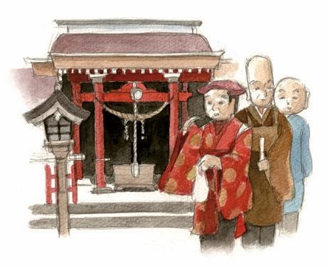 神明神社のえびす祭り