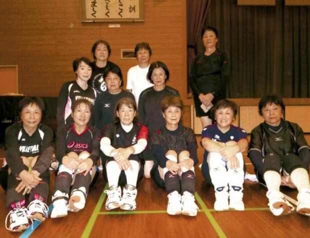 ことぶきバレーチーム「桜島」