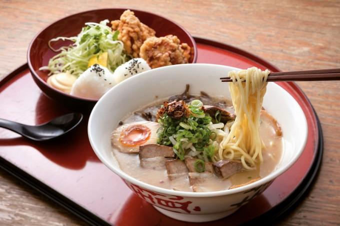 まんぷくラーメンの麺・唐セット