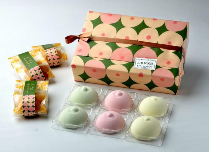 庄籠製菓舗の「おっぱいマシュマロ」