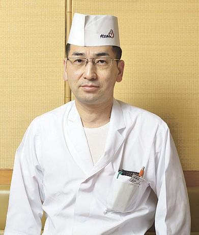 旬席 だるま寿司武岡本店 総料理長 枦山 和彦さん