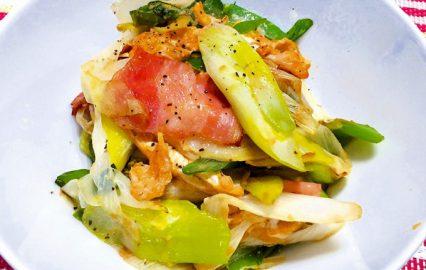古い記事: 白ネギとベーコンの卵炒め | かごしま旬野菜レシピ